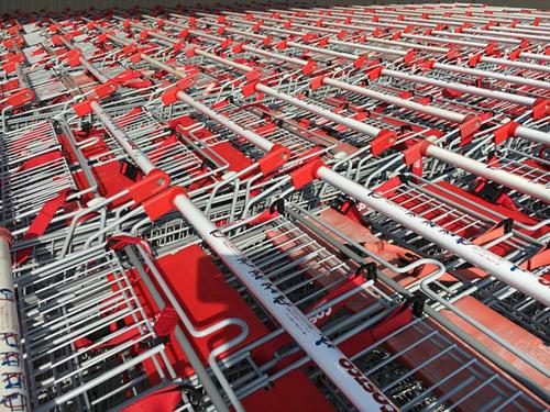 Shopping Carts at Costco